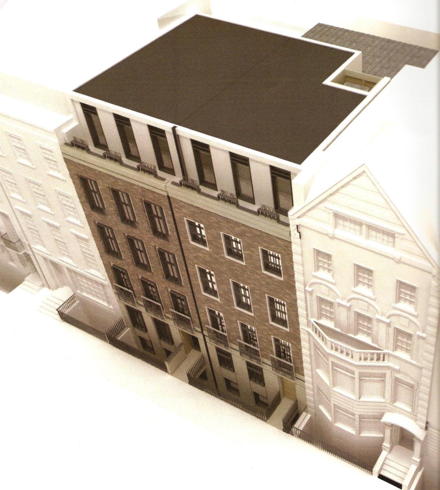 Elevation Bentinck Street