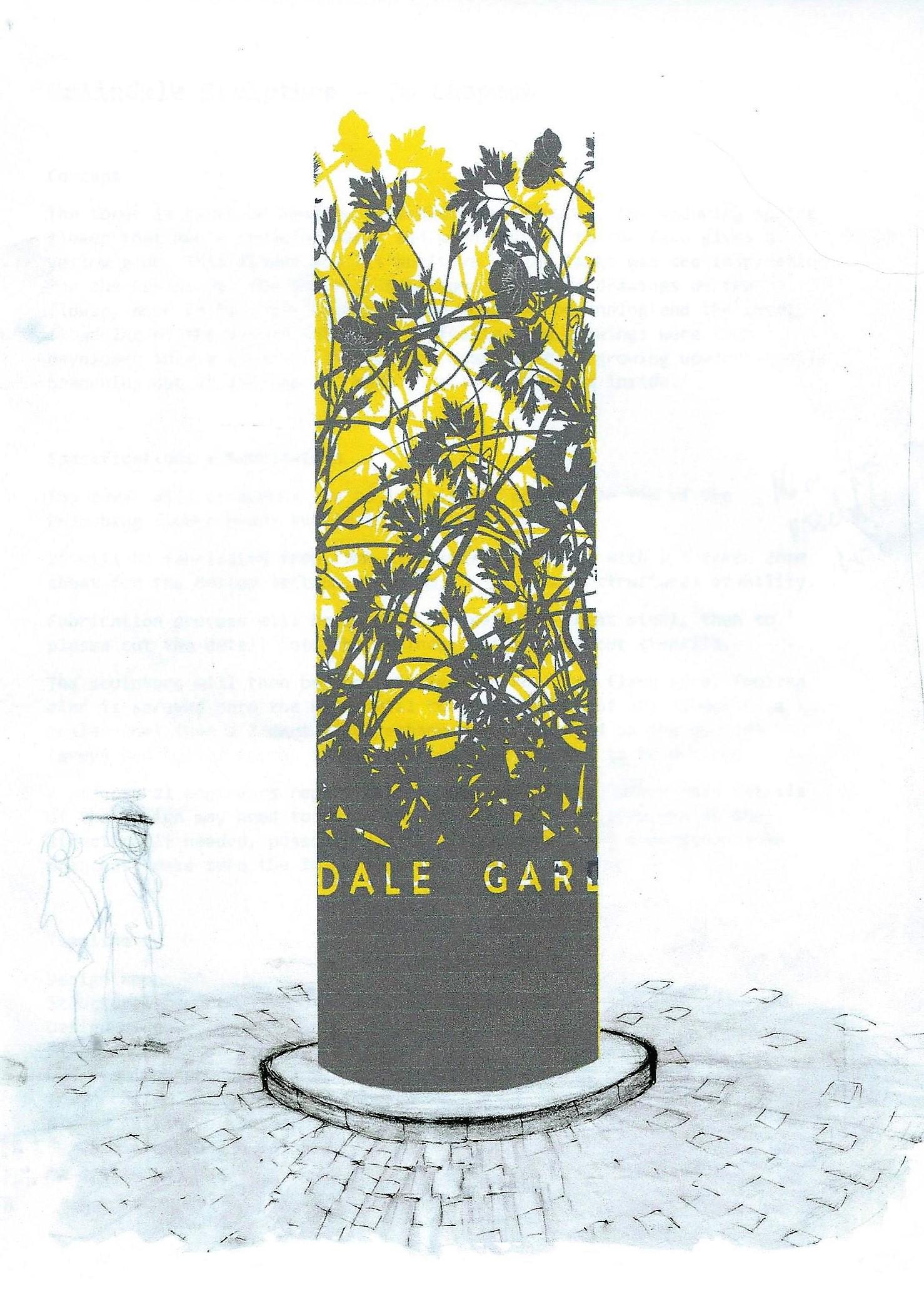Colindale Gardens Sketch