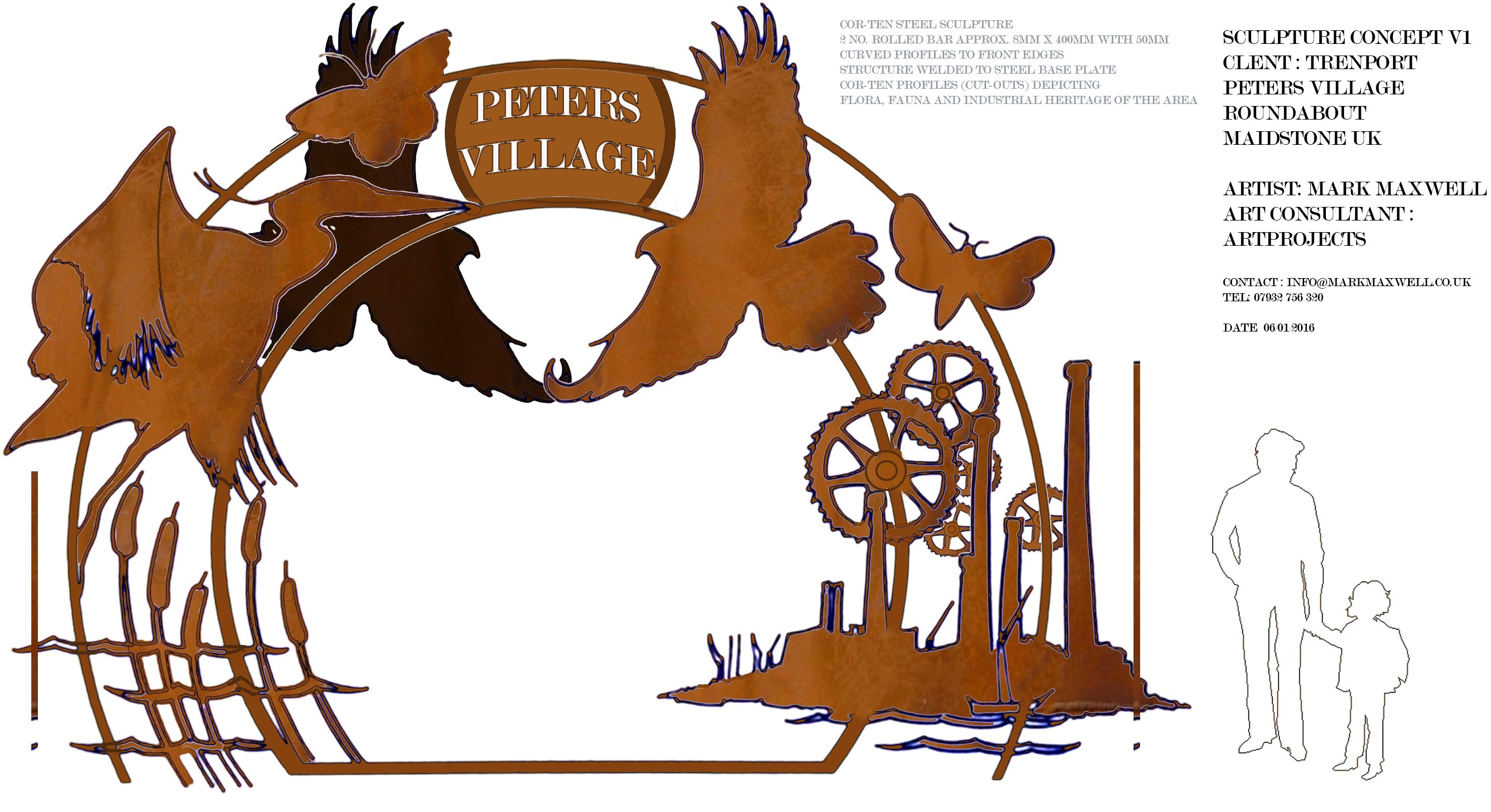 Peters Village Concept Design